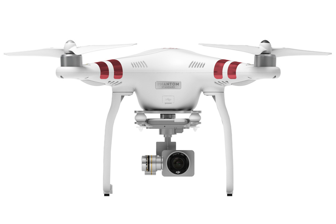 Phantom 3 standard has a 2.7K HD video camera